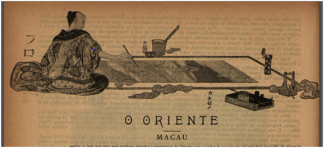 BRANCO E NEGRO 1896 n.º 38 pp.182-183 MACAU de Conde de Arnoso I