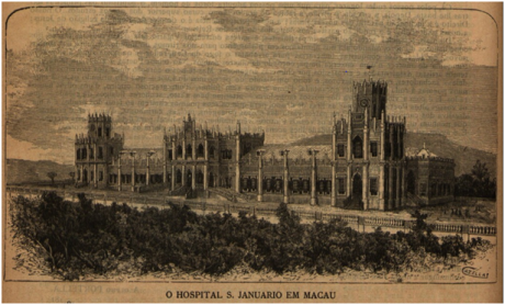 BRANCO E NEGRO 1896 n.º 38 pp.182-183 MACAU de Conde de Arnoso IV