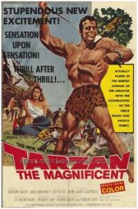 CARTAZ 1960 - Tarzan The Magnificent