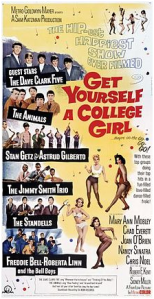 CARTAZ 1964 Get Yourself a College Girl