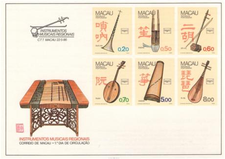 Dados Técnicos 22MAI1986 Instrumentos Musicais Regionias