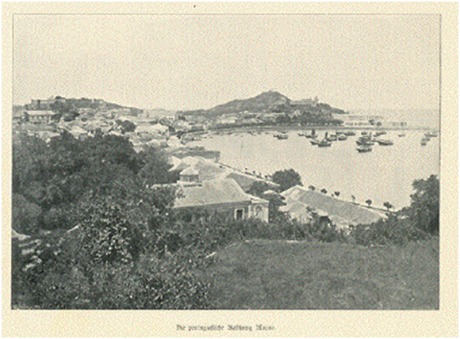 Desenhos de Macau 1880-1890 (II)