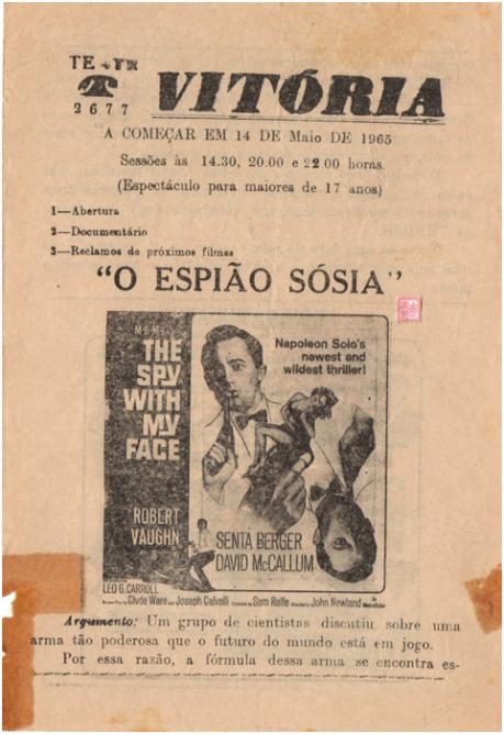 VITÓRIA - 14MAI1965 The Spy With my Face