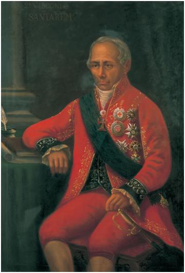 2.º Visconde de Santarém c. 1850
