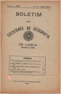 Bol. Soc. Geografia n.º 7-8-1930 -MACAU Jaime do Inso (I)