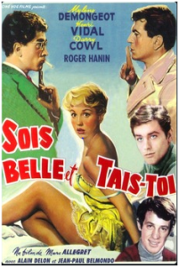 CARTAZ 1958 Beautiful but bad