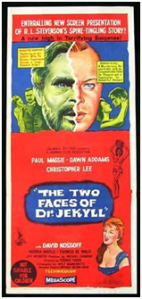 CARTAZ 1960 The two faces of Dr. Jekyll