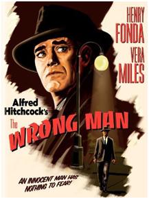 CARTAZ The Wrong Man 1956