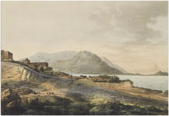 JOHN WEBBER Vista de Macau c. 1779