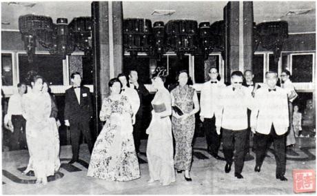 MACAU B.I.T. VIII-3-4, 1972 - 25 ANOS ROTARY CLUB - entrada do Governador