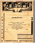 PRINCÍPIO n.º 3, 25JUN1930 CAPA