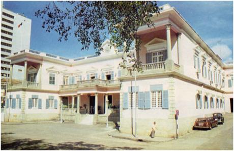 Residência dos Governadores de Macau - Palácio da Praia Grande
