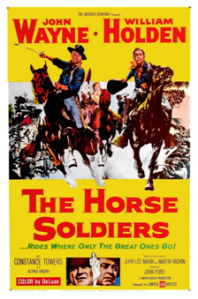 CARTAZ 1959 The Horse Soldiers