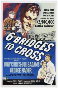 CARTAZ 6 Bridges to Cross 1954