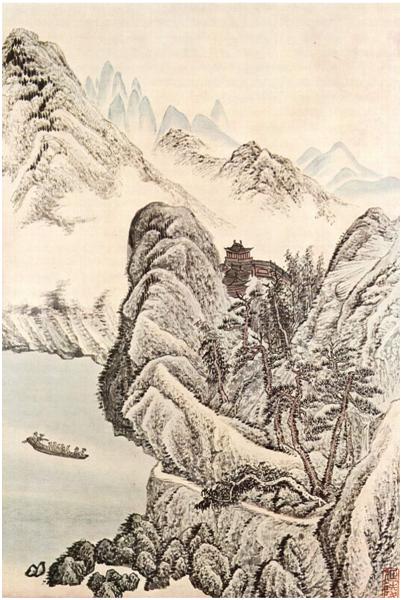 Pintura de Wu Li -1632-1718 II