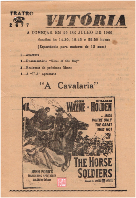 VITÓRIA - 29JUL1960 - The Horse Soldiers