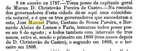 8 de Agosto de 1797