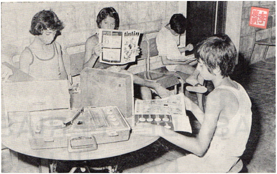 MACAU B.I.T.7-8,1972 Colégio D. Bosco II