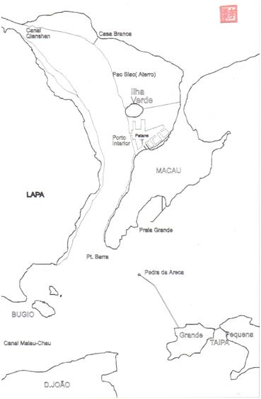 MAPA - Esboço de Adolpho Loureiro - 1882
