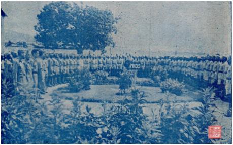 MOSAAICO III-13 SET1952 - Coroação da imgaem em Mong Há II