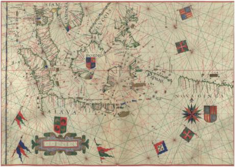 Mapa de Fernão Vaz Dourado ca 1576