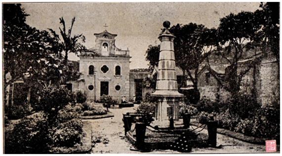 Os Piratas em Coloane em 1910 - OBELISCO Foto invertida