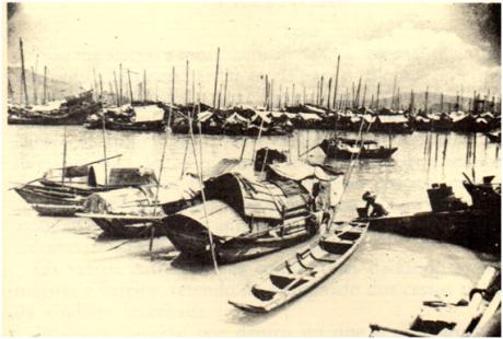 sampanas-no-porto-interior