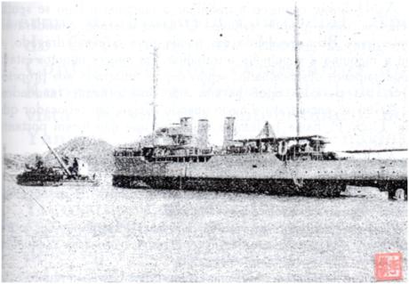 ivens-ferraz-cruzador-republica-na-china-republica-encalhado-1926