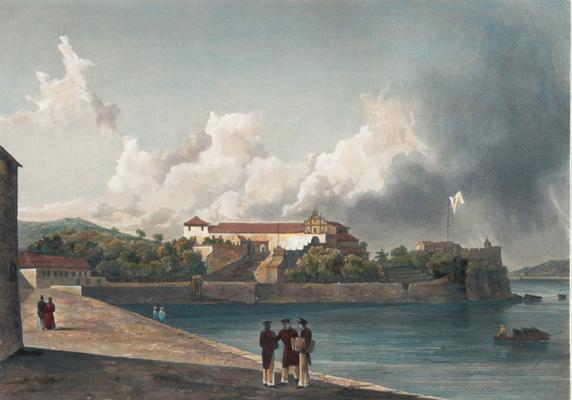 couvent-de-la-guia-a-macao-c-1830-barthelemy-lauvergne