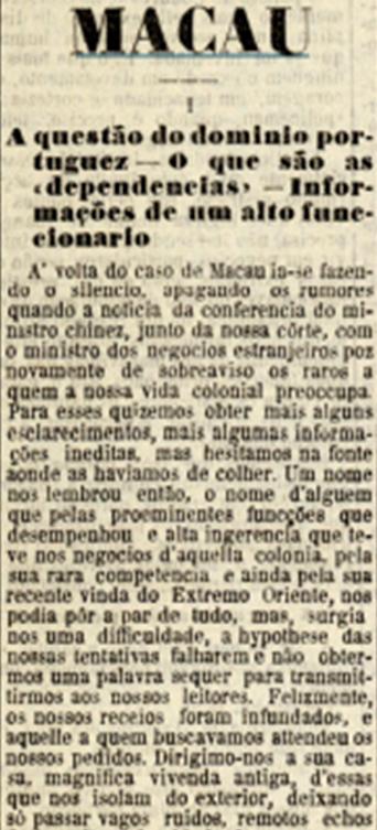 diario-illustrado-23jan1909-macau-a-questao-do-dominio-i