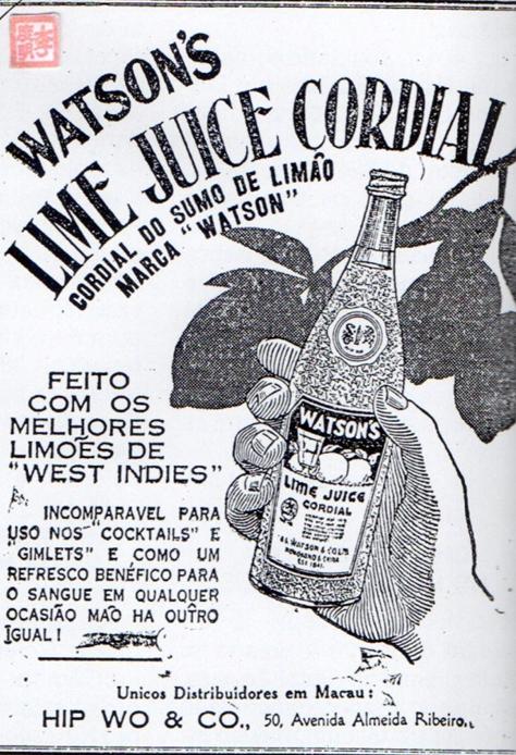 anuncio-1942-watsons-lime-juice-cordial