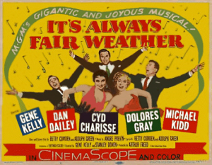 cartaz-its-always-fair-weather-1955